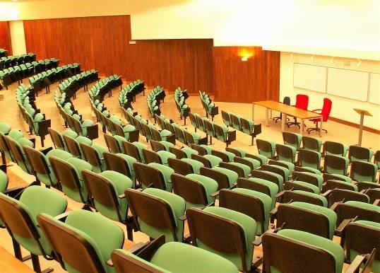 UEM, лекционный зал в педагогическом комплексе