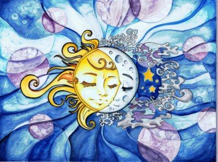 солнце или луна?